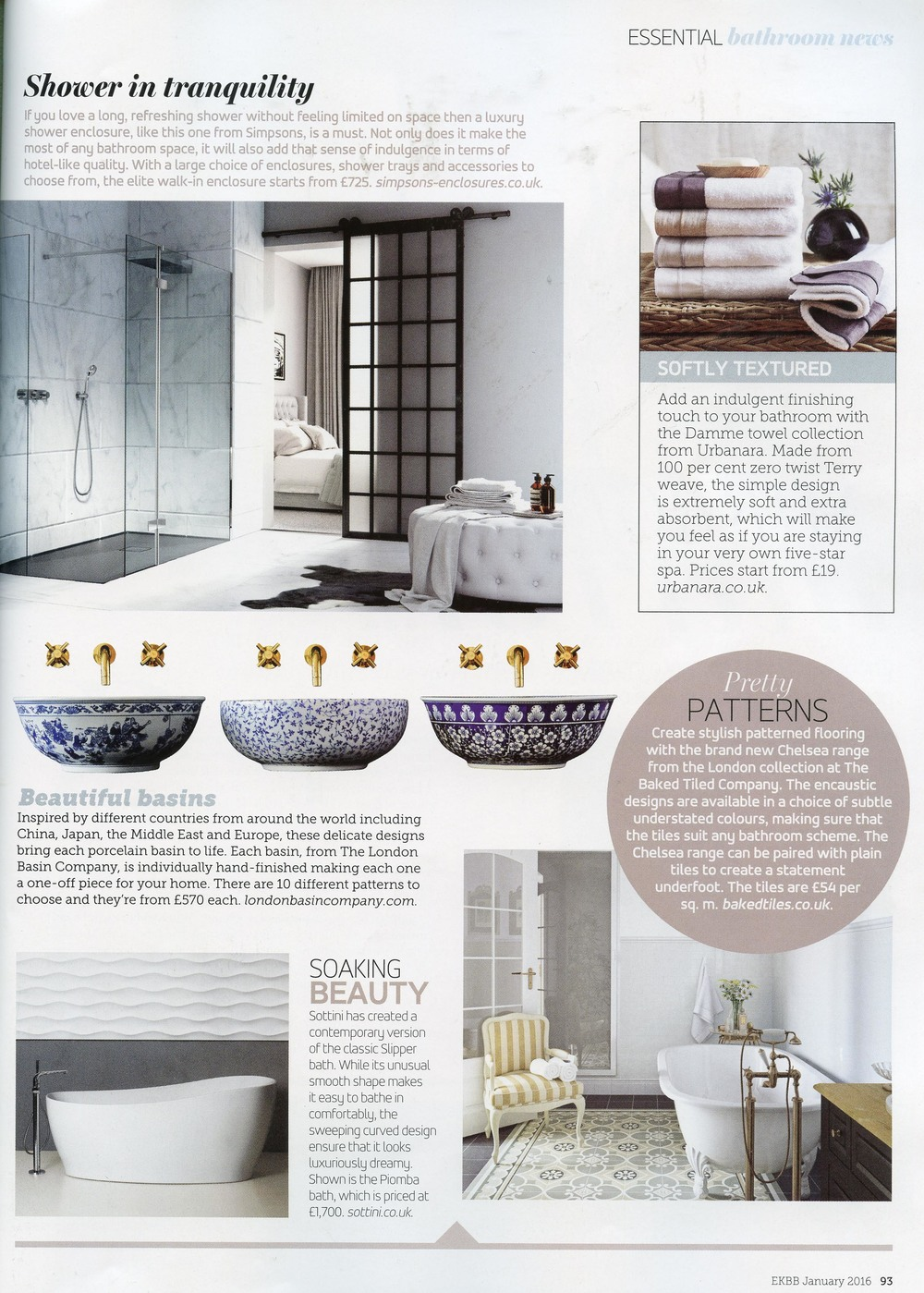 ESSENTIAL KITCHEN AND BATHROOM JANUARY 2016