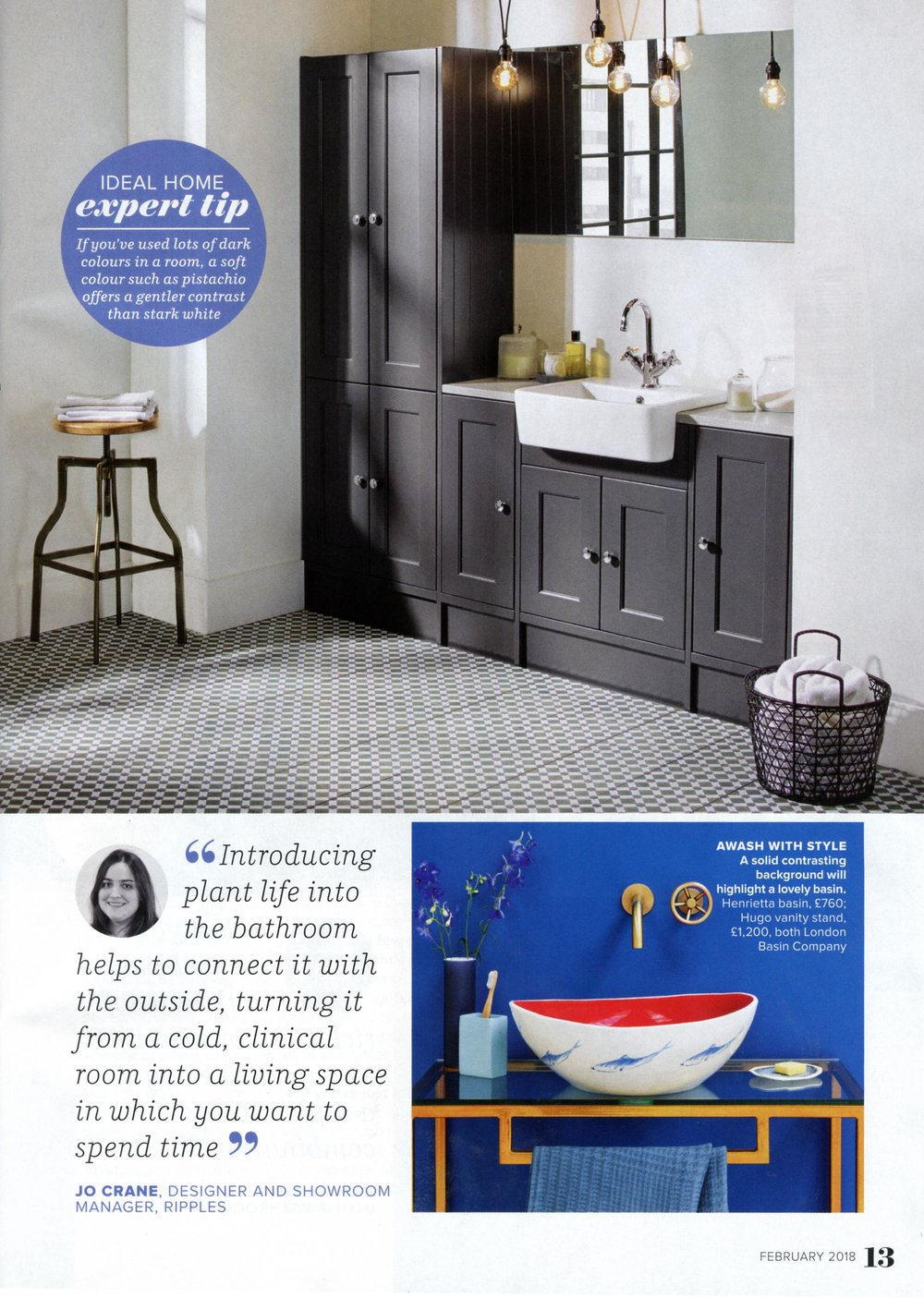 IDEAL HOME FEBRUARY 2018