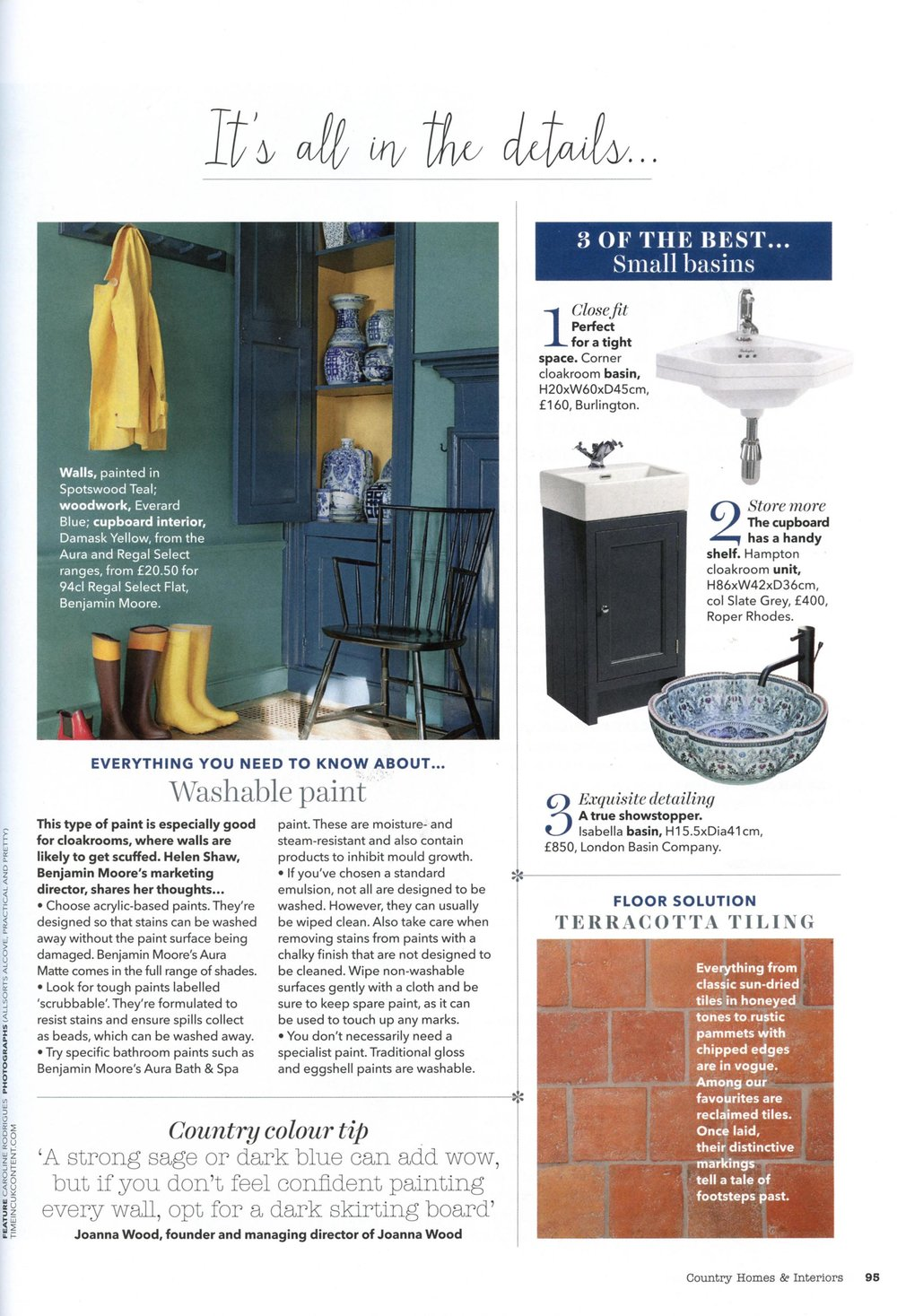 COUNTRY HOME & INTERIORS FEBRUARY 2018