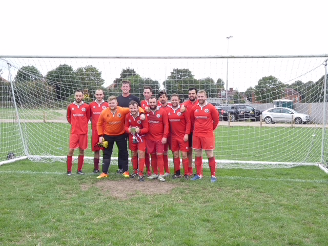 Woolwich Spartans lift the first cup of the season