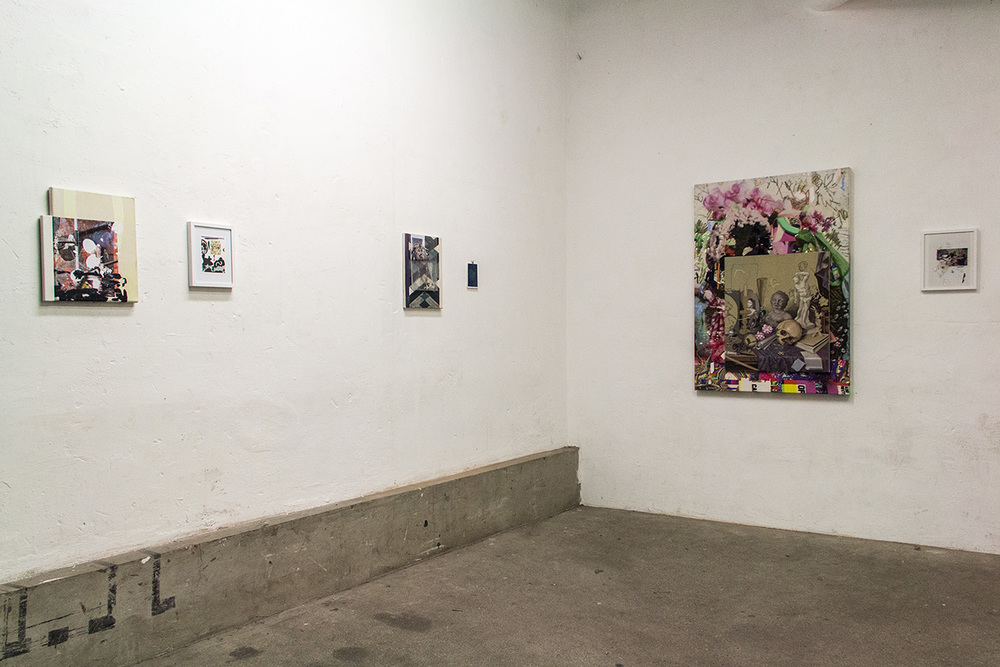installation view, first room