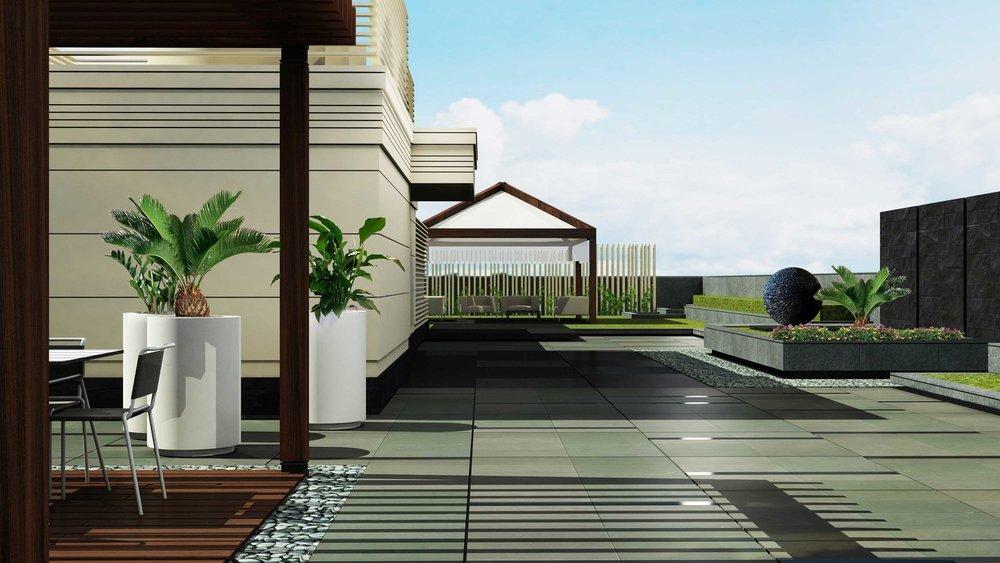 Madhok House terrace - new delhi