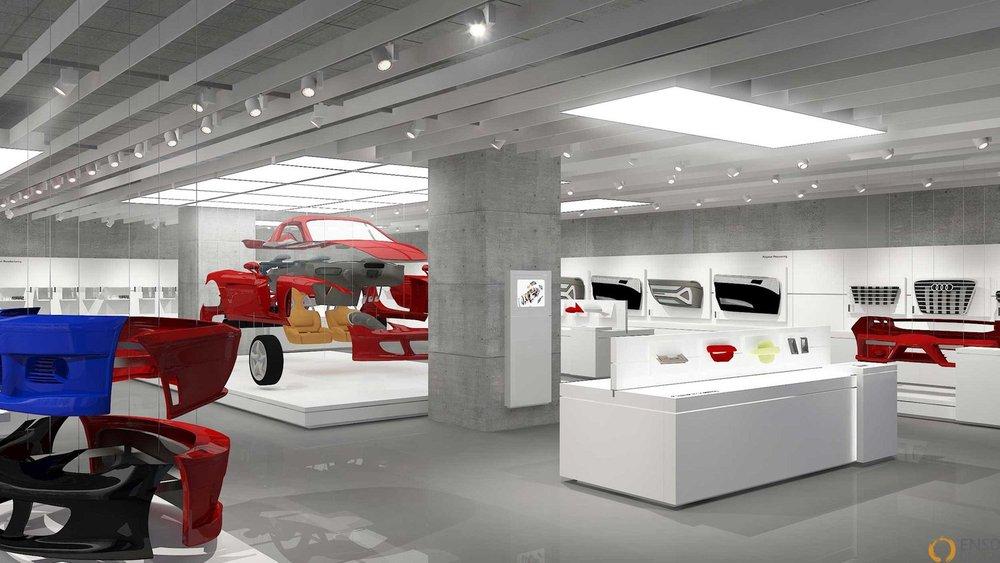 Motherson brand experience center - Noida