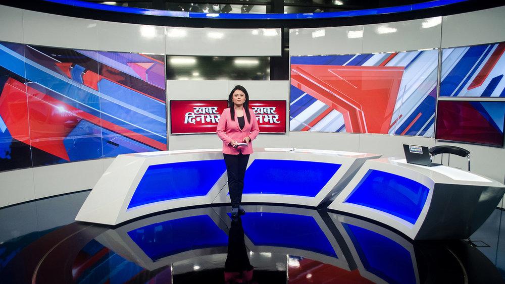 abp news studio - noida