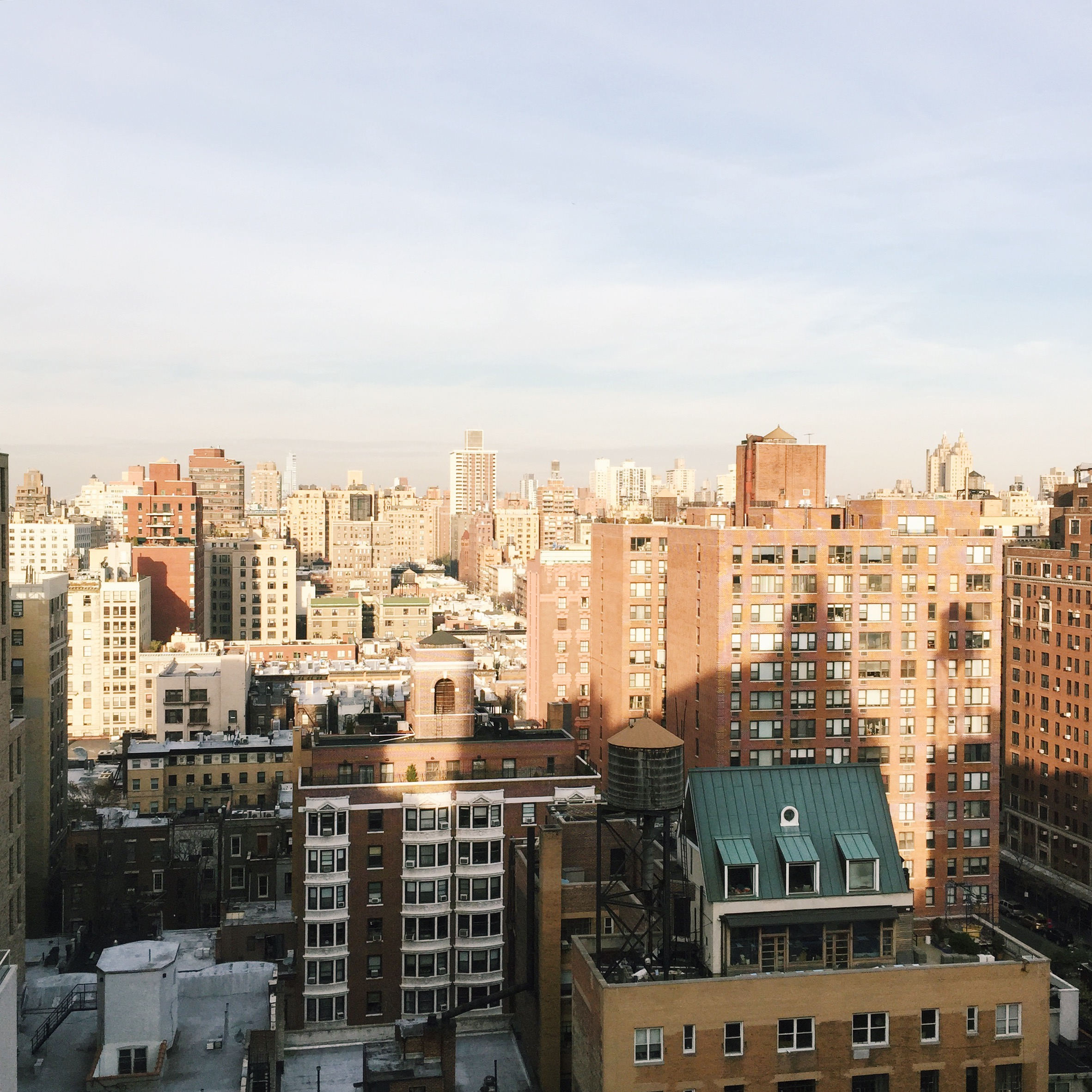 View from the NYLO Hotel rooftop...