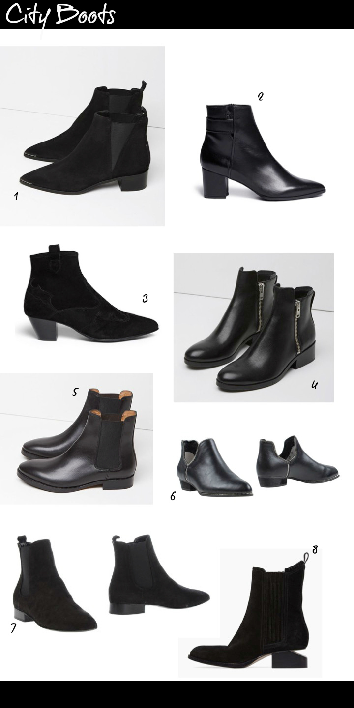 Selection of city style black ankle boots from Lyst