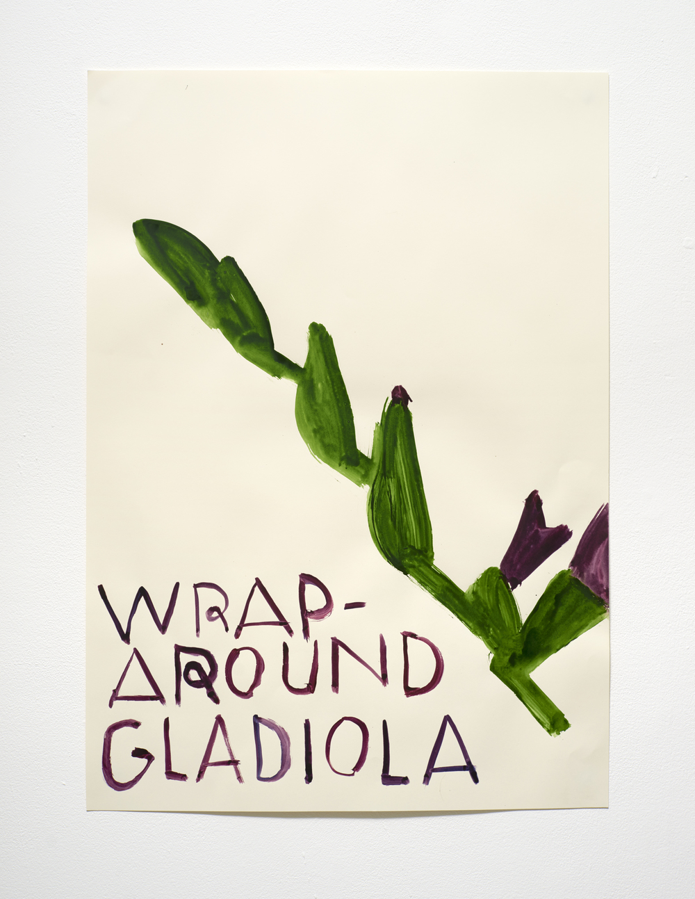 劍蘭花束 Wraparound Gladiola (2015)