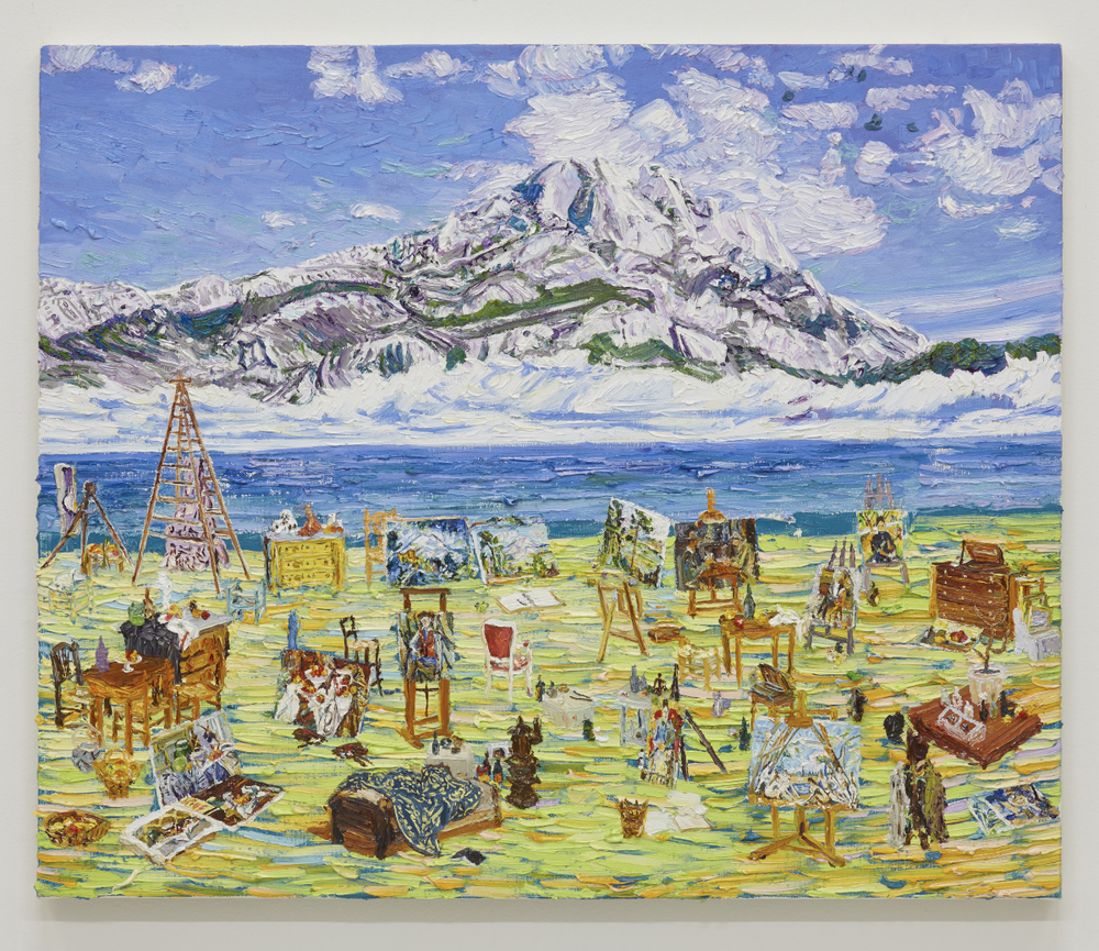 沙灘上的塞尚 Cézanne On the Beach (2015)