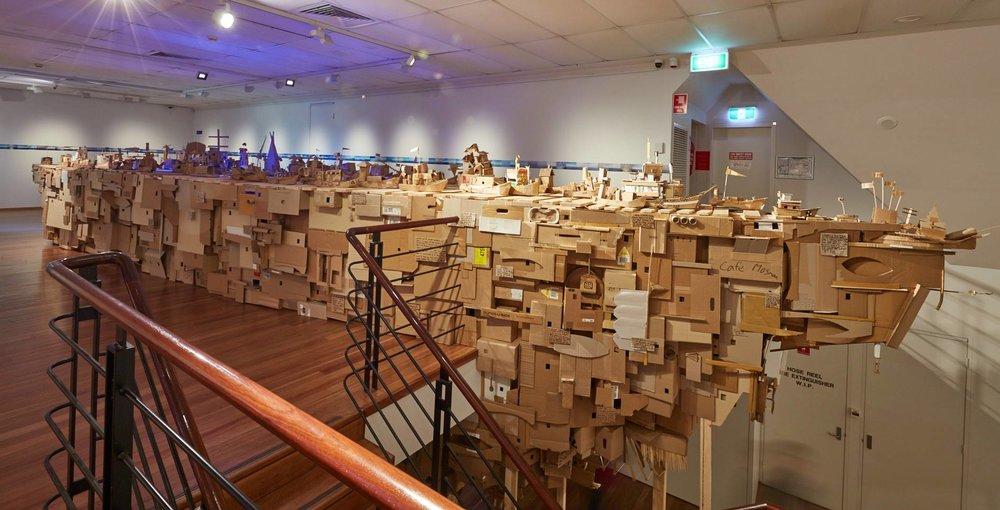 領航 | 土地 : 另一個國家計劃,圖片來源:莫斯曼藝術中心 Head | Land : Project Another Country, Credit: Mosman Art Gallery