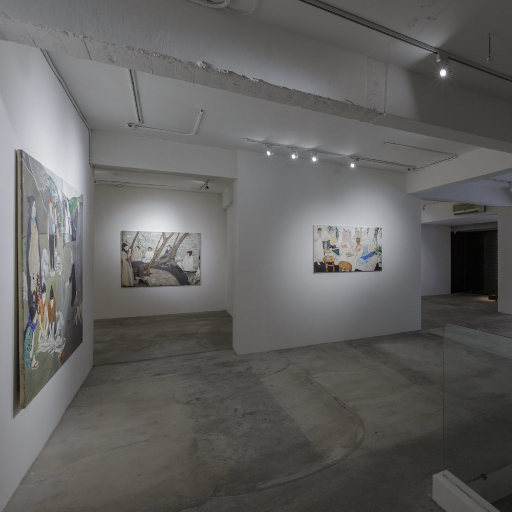 世界的另一端:瑪雅・海薇個展  Maya Hewitt: Circling One Another:    2015.09.05—24