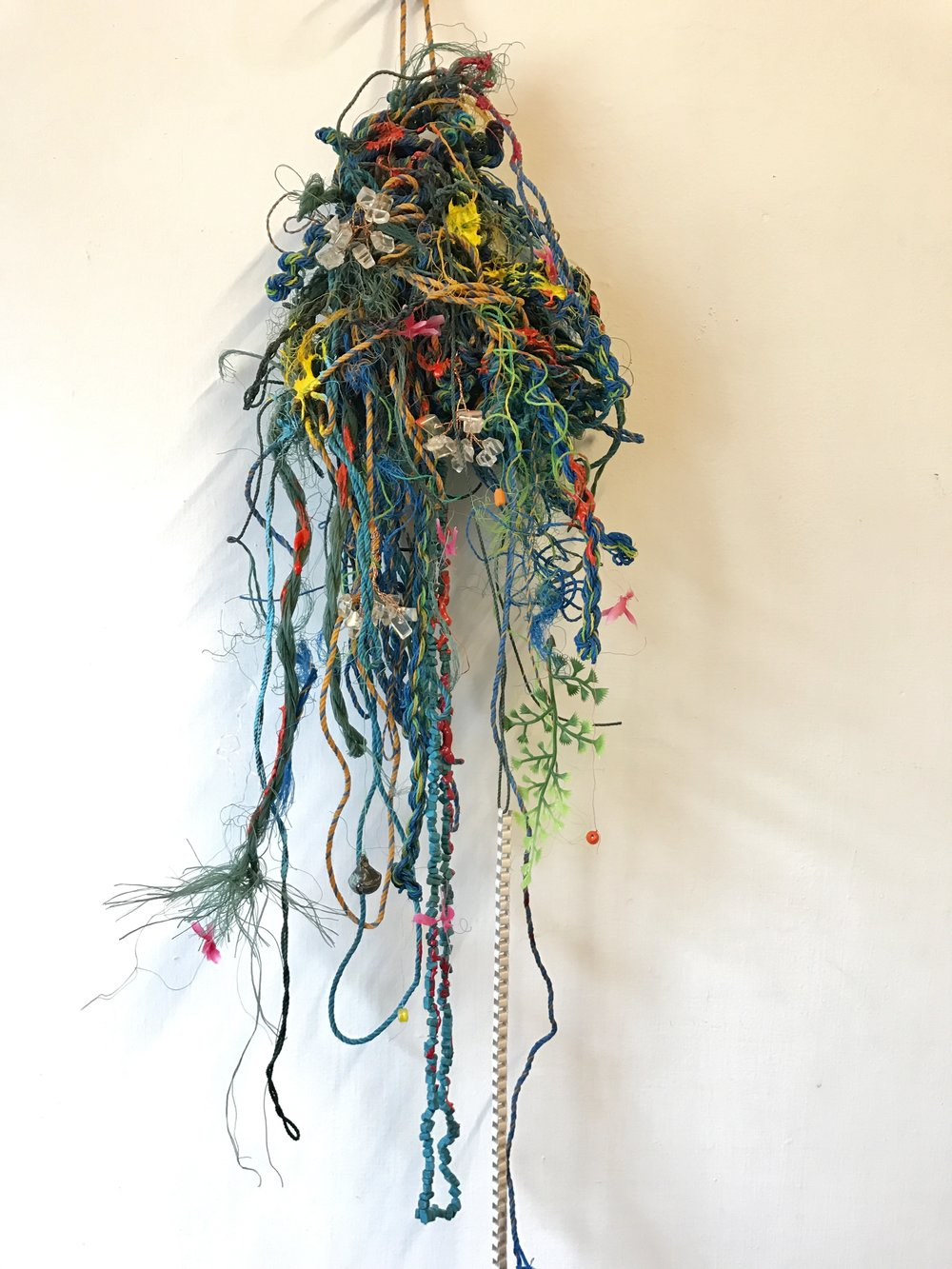 〈祈禱之珠 #1|Prayer Beads #1〉,2018