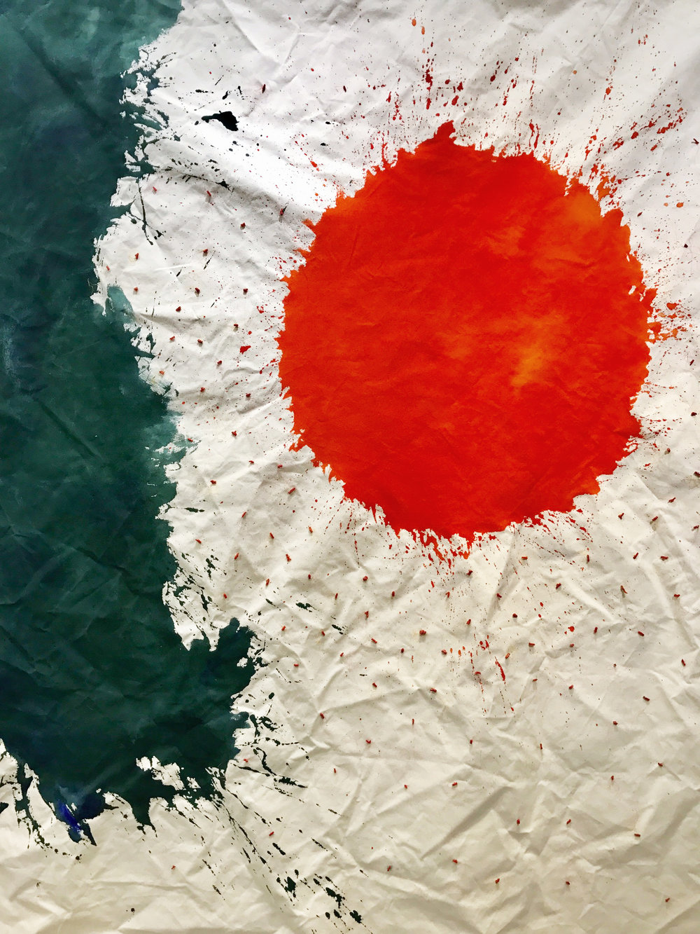 〈大紅珊瑚|A Big Red Coral〉,2018,