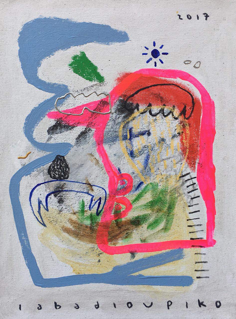 Iabadiou Piko〈Untitled 4〉,2017