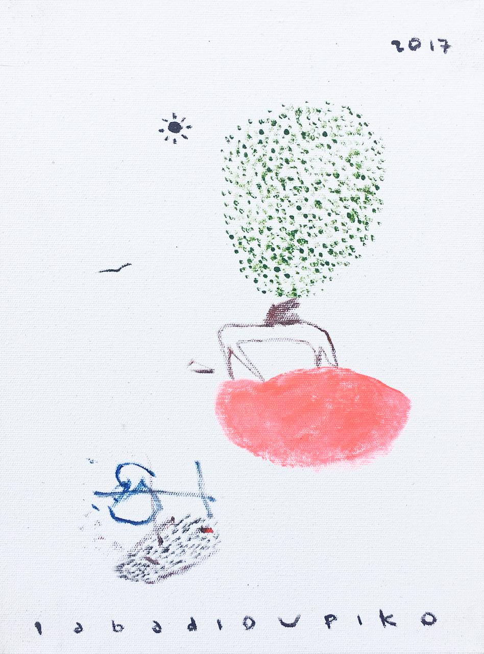 Iabadiou Piko〈Untitled 7〉,2017