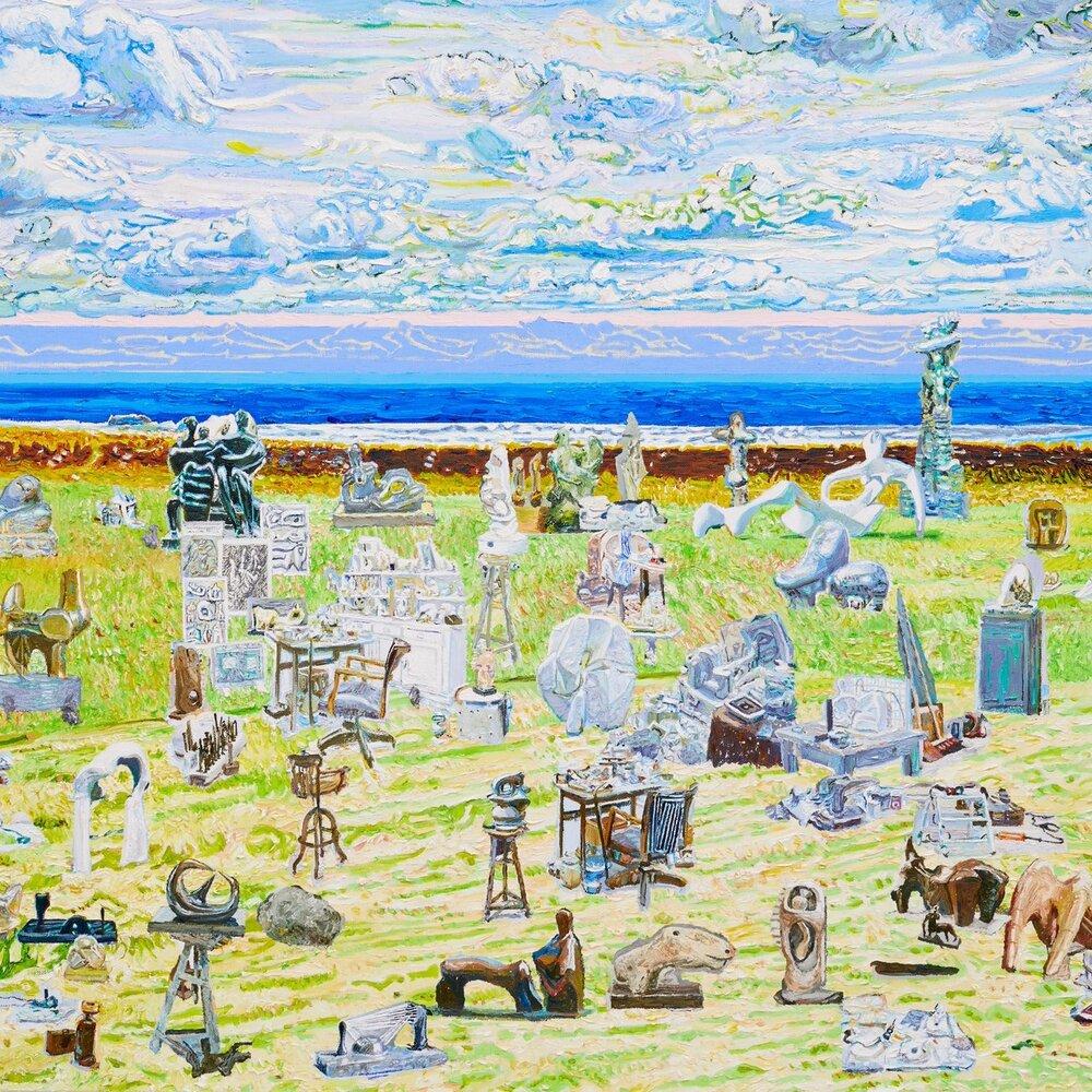 洋' 灘' 日' 與雕塑:桑久保 徹 個展  Sea' Sand' Sun' and Sculptures: Toru Kuwakubo Solo Exhibition    2018.03.24—05.13 (Current Exhibition)