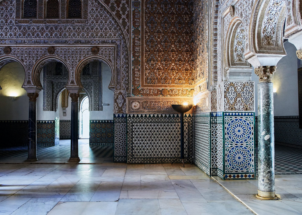 The Hall of Ambassadors, Real Alcazar.
