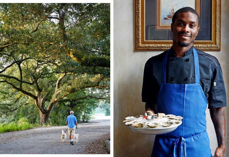 City Park in New Orleans is larger than NYC's Central Park; a waiter at Seaworthy
