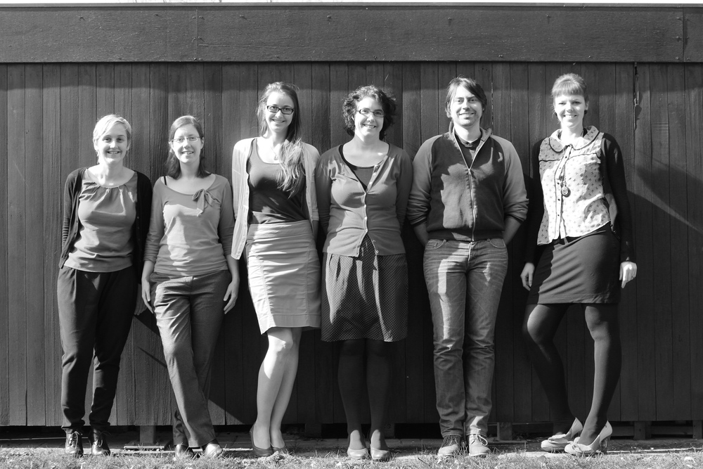 Jasmien, Elke, Ruth, Ann, Jan & Katelijn