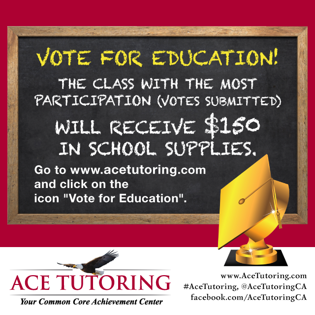 ACE Tutoring - Teacher Appreciation Contest