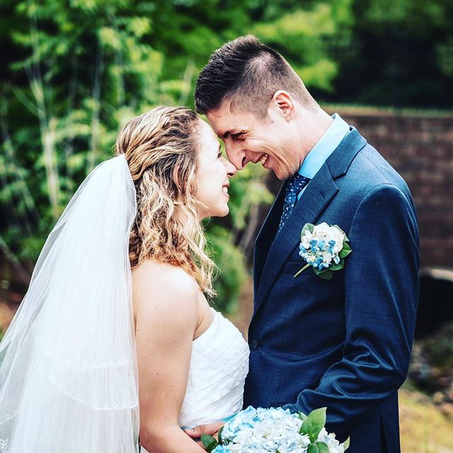 """Married the most wonderful girl in the world! We are now officially """"The Sheplers"""" :D"""