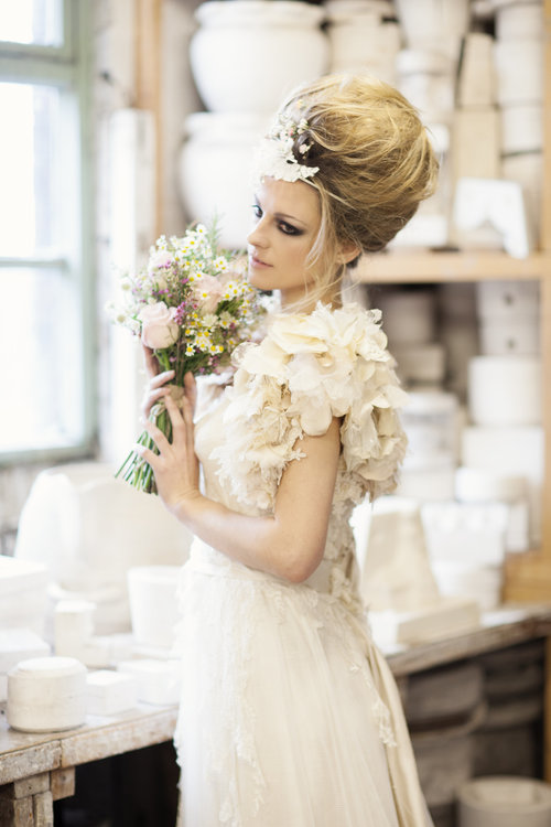 China and Roses Bridal Collection — Sarah Willard Couture