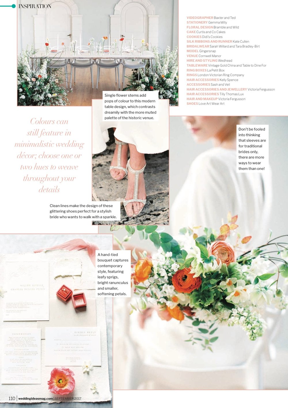 Sarah Willard Featured Wedding Ideas Magazine 1