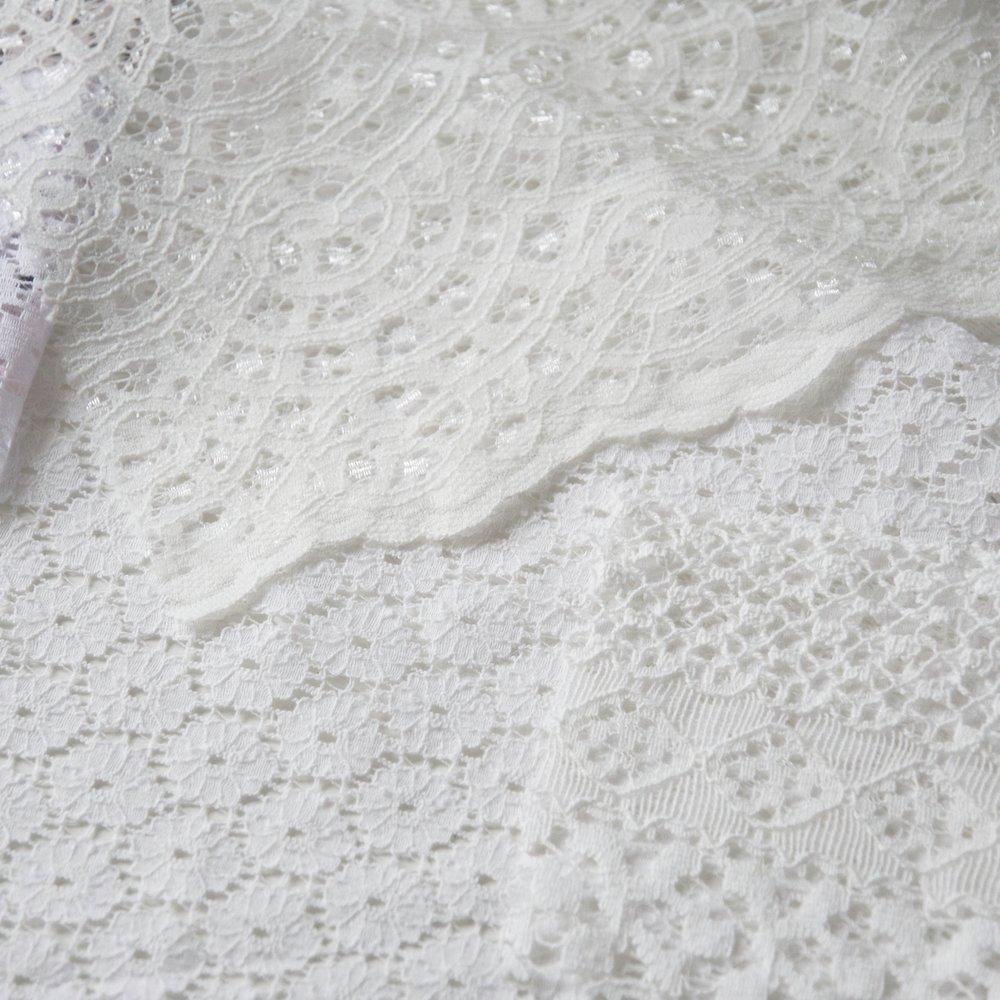 Geometric lace designs