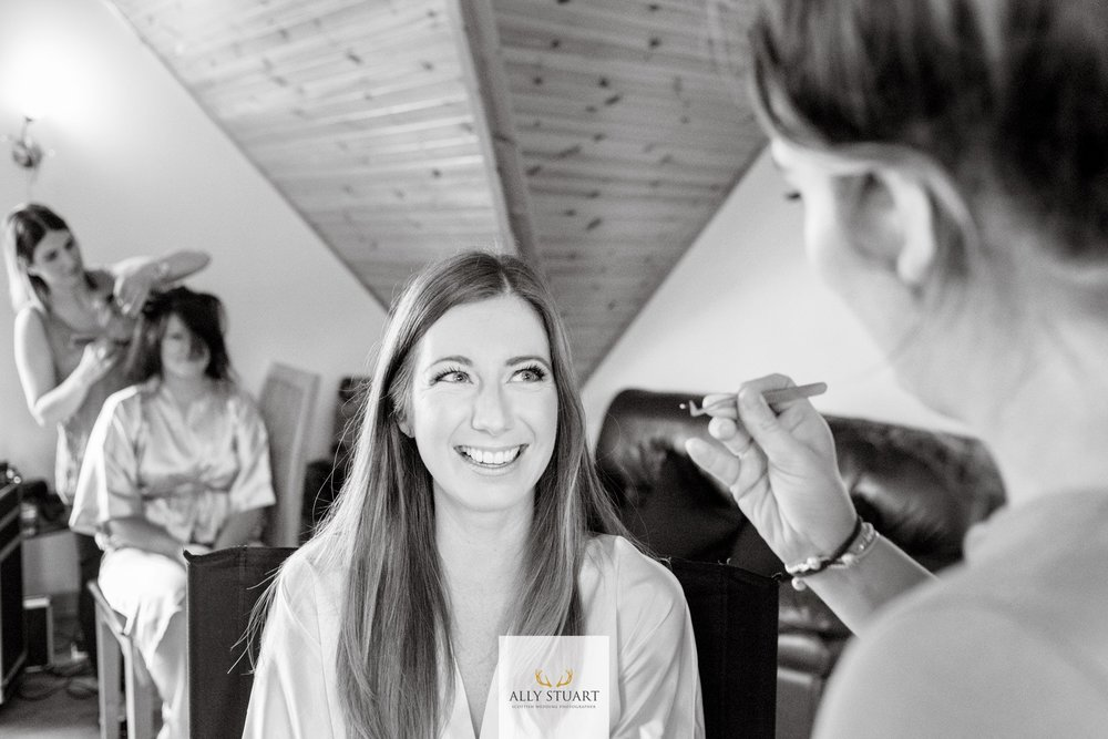 Bridal Make Up Bookings based in Scotland
