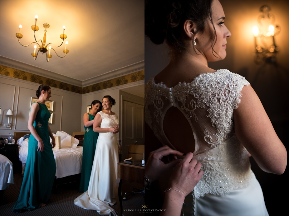 `edinburgh bridal hair and make up