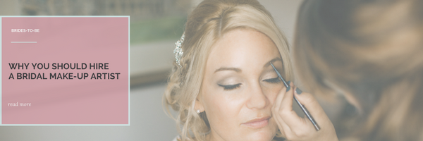 Hire a bridal make up artist