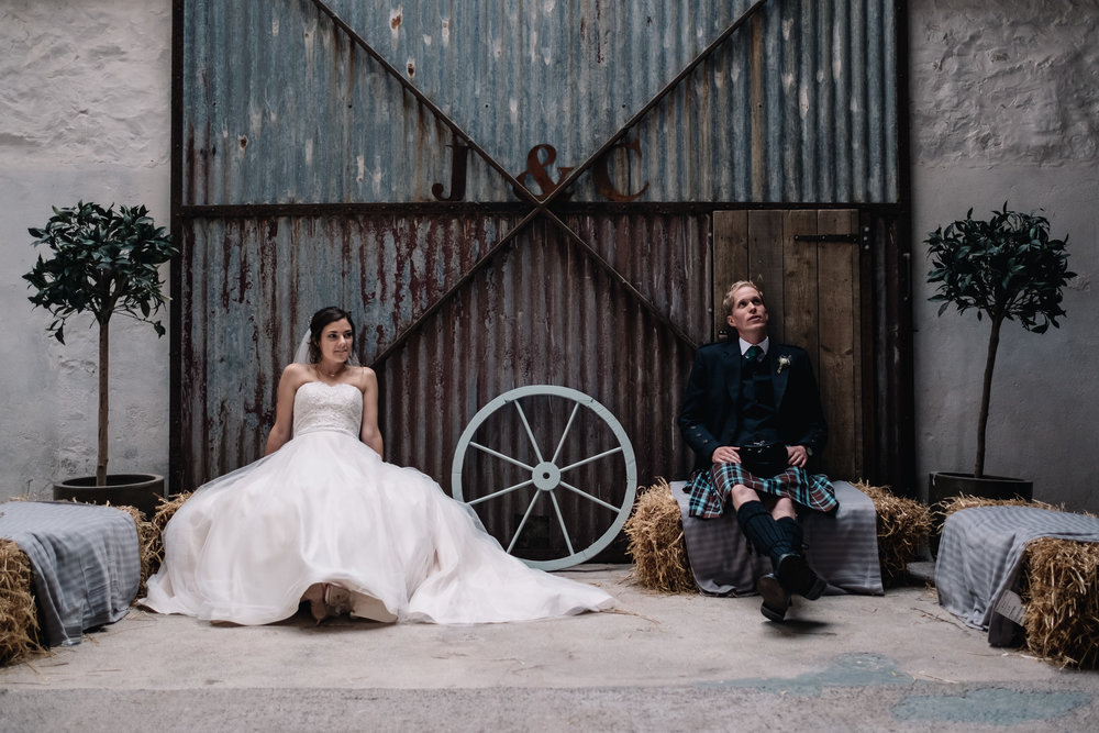 Bridal Make Up at The Cow Shed, Crail by Sophie Alexis Make Up Artist