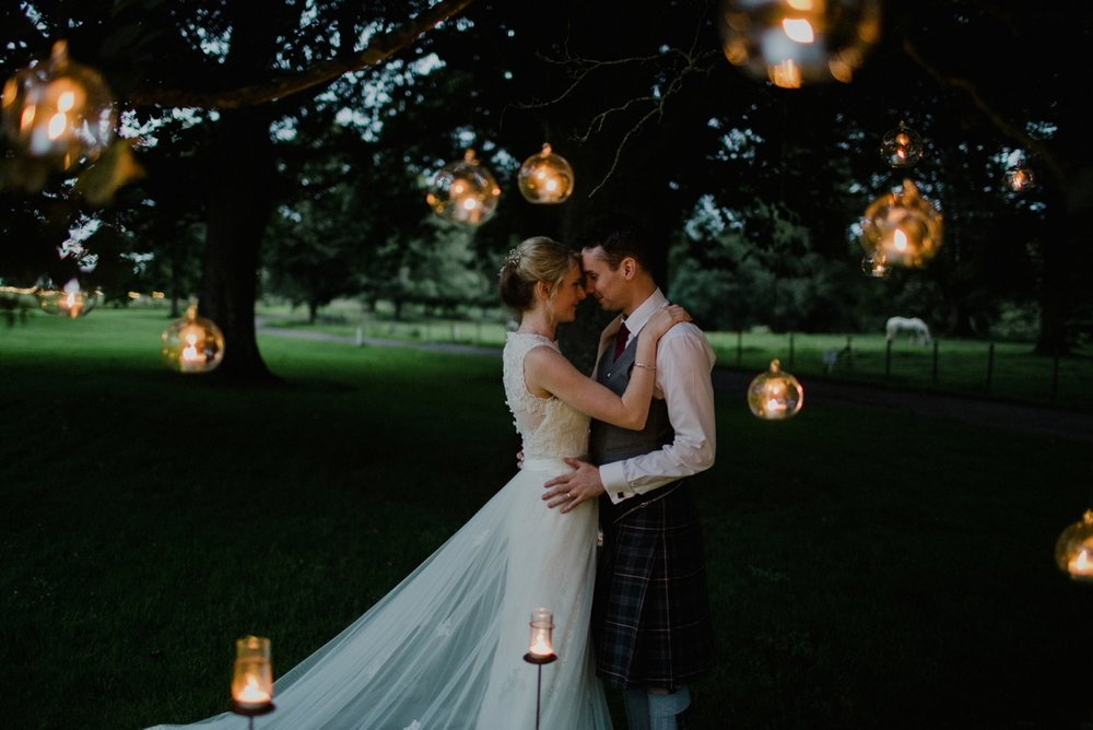 Romantic Scottish Wedding // Photo by  Zoe Alexandra Photography