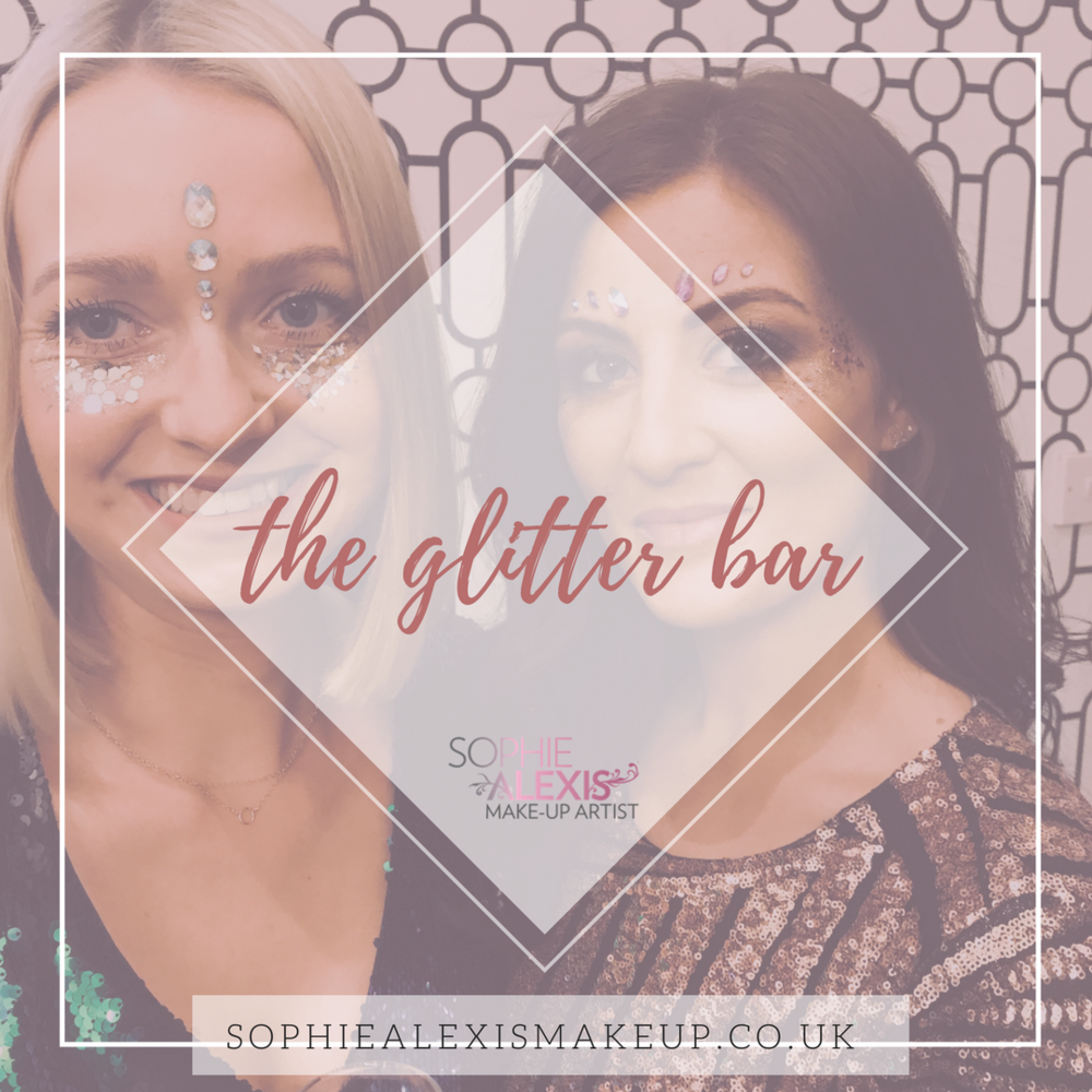 Glitter Bar Hire for Parties and Weddings