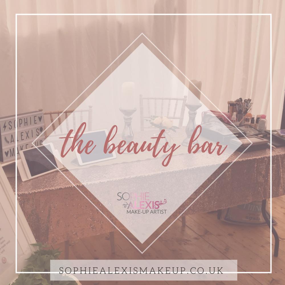 Pop up Beauty Bar in Scotland