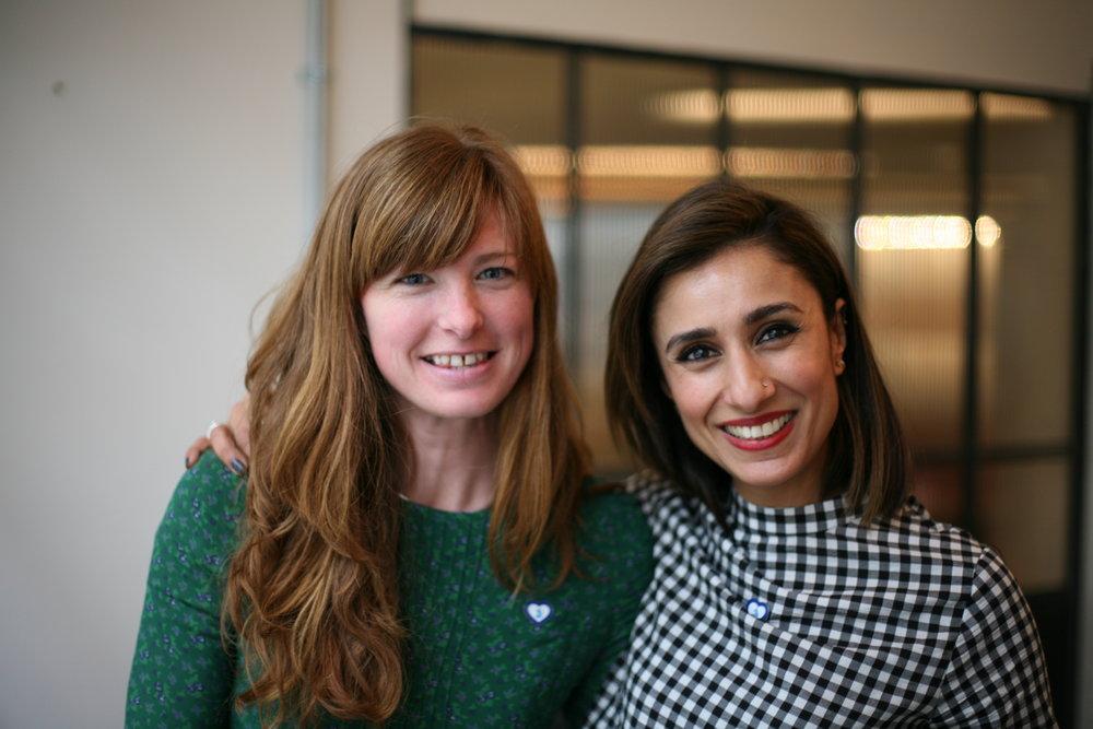 FRANK Founder Katie & Anita