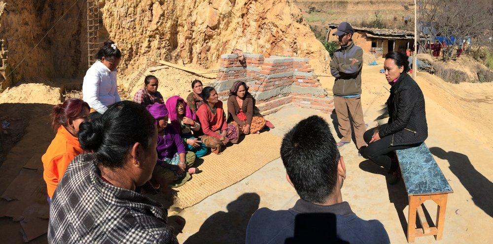The community at lakuribhanjyang