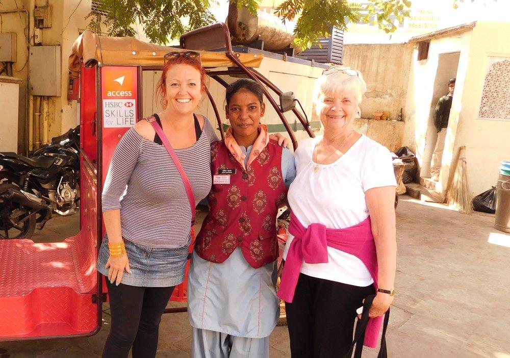 Gwen & Ann in India 2017