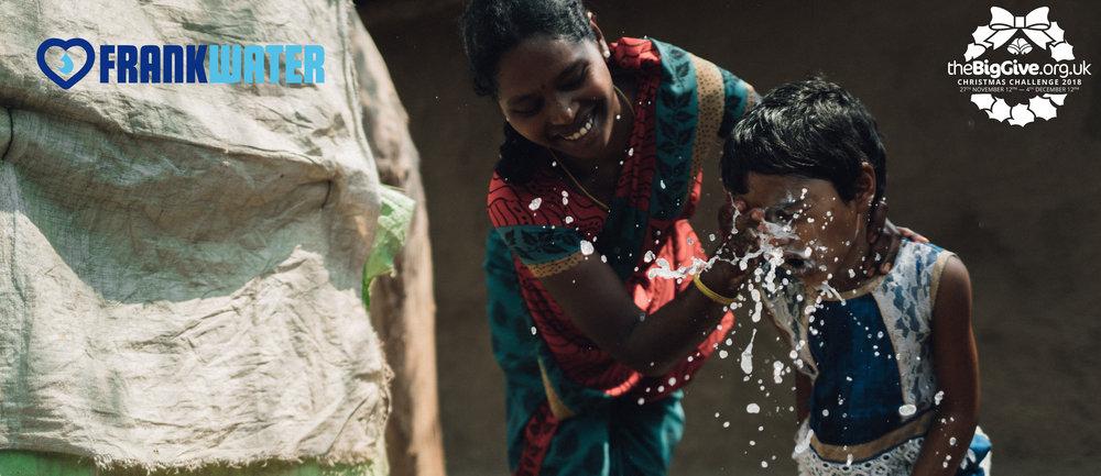 FRANK Water Big Give Christmas Challenge 2018