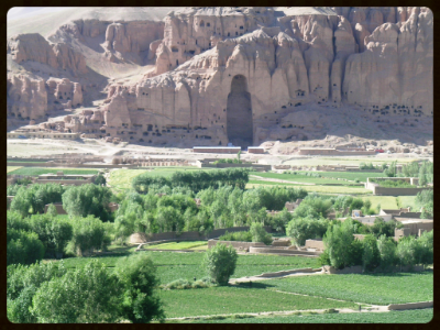 The Bamiyan Valley, Afghanistan. By Tracy Hunter.