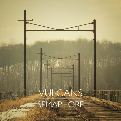 """Cover for our new EP, """"Semaphore"""""""