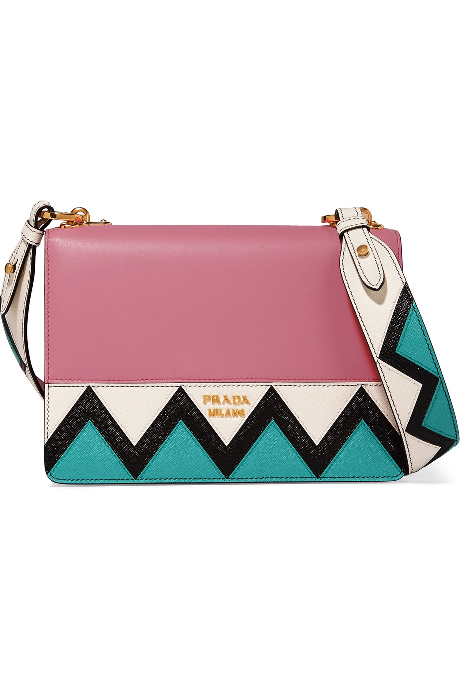 Prada  Zig Zag Shoulder Bag  ($2100)