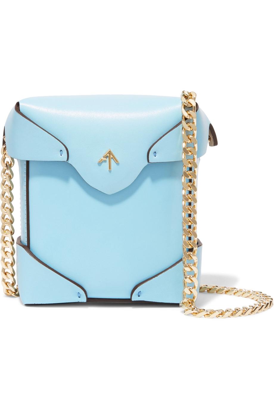 Manu Atelier  Pristine Mico Leather Bag  ($420)