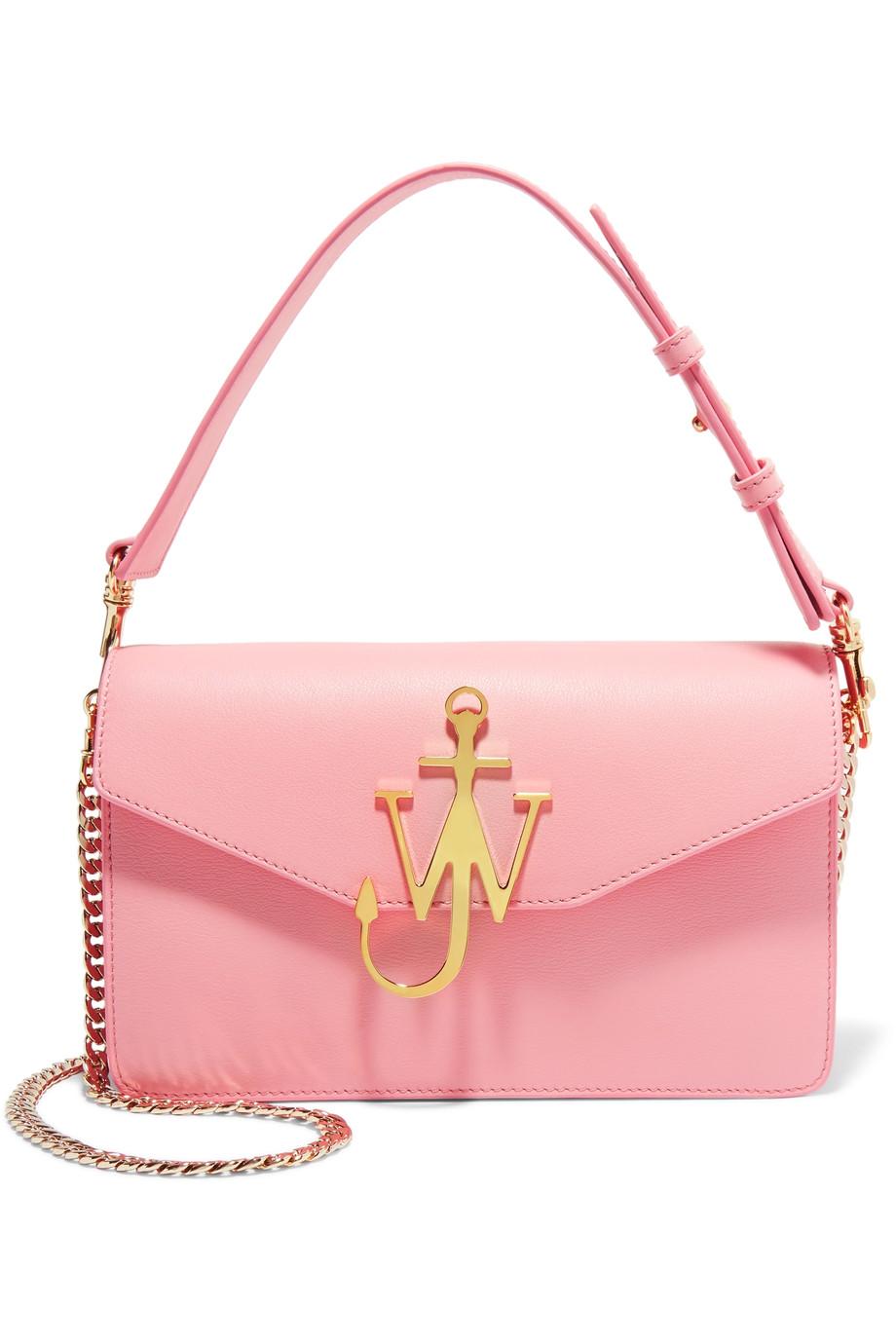 J.W. Anderson  Logo Leather Shoulder Bag  ($1370)
