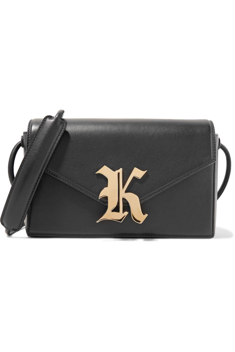 Christopher Kane  Gothic K Leather Bag  ($995)