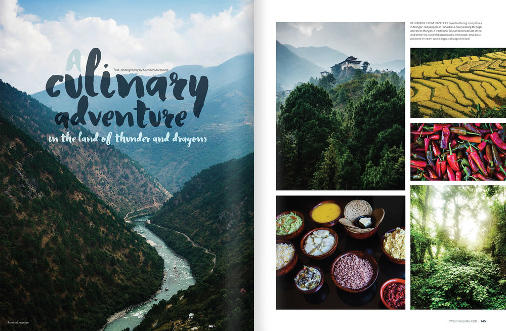 A Culinary Adventure in the land of the Thunder Dragon- Sweet Paul Magazine