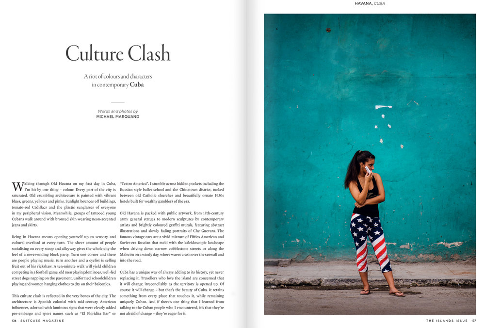 Culture Clash- Suitcase Magazine