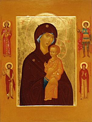 Theotokos with Saints