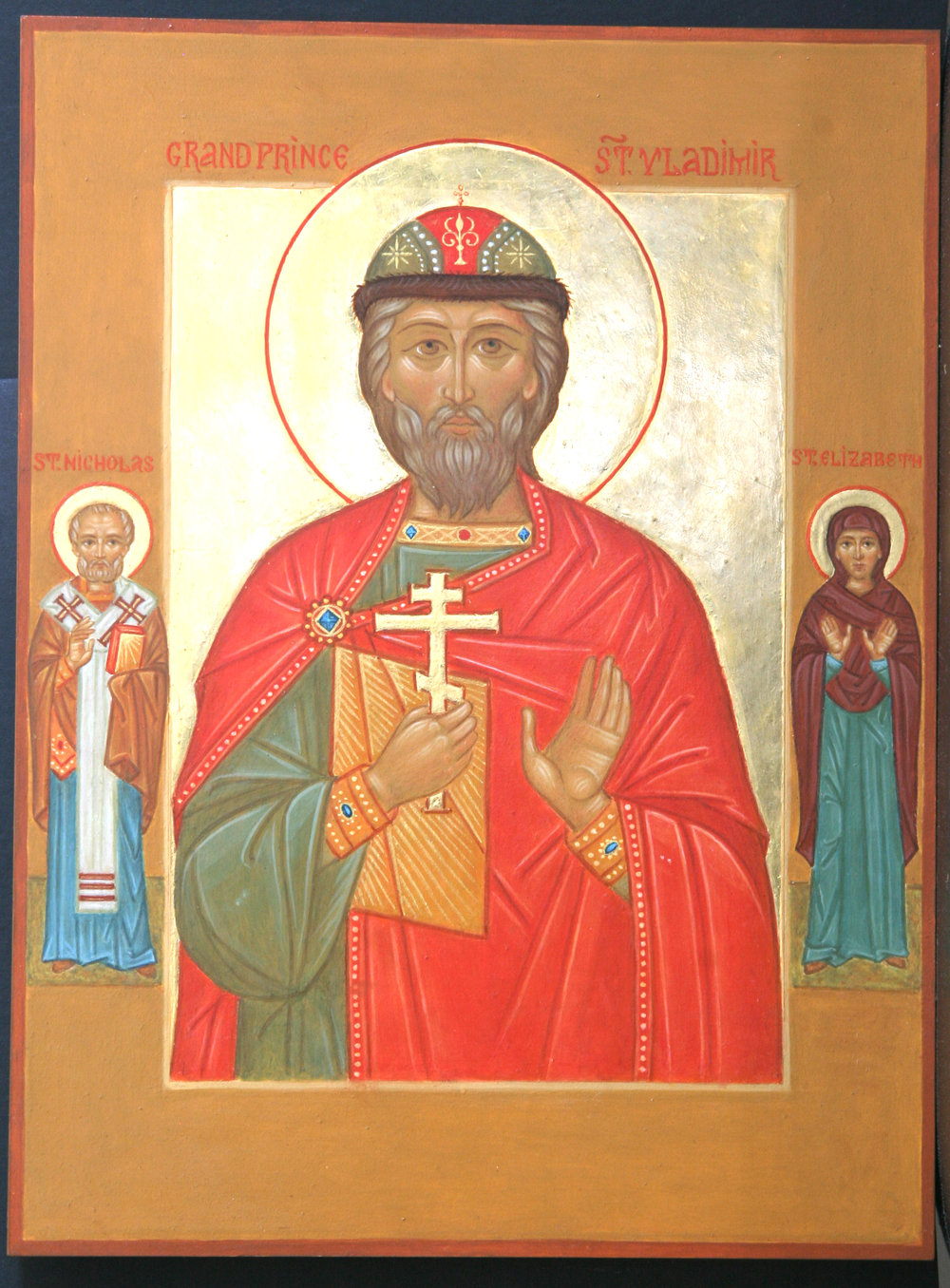 St. Vladimir with Saints
