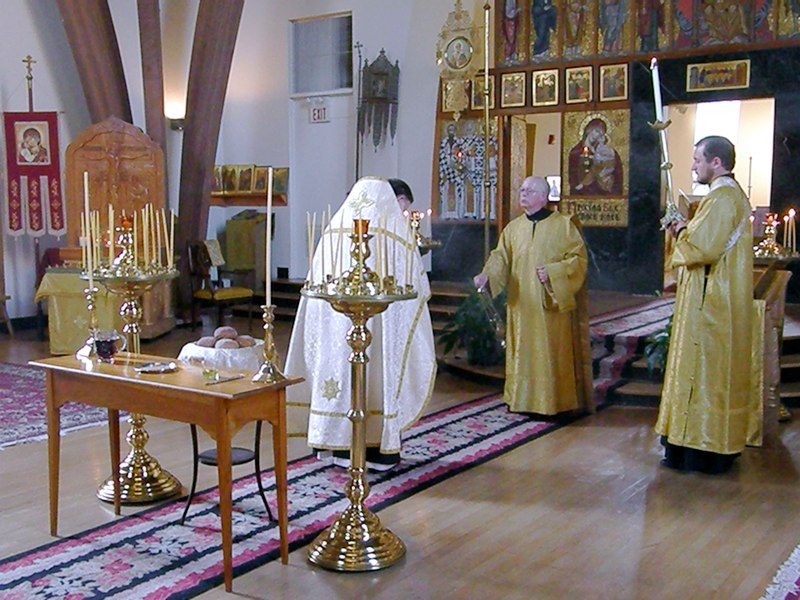 Vigil of Transfiguration