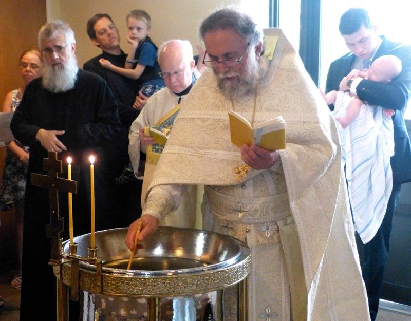Baptism of Jacob Barnoski 2015